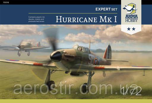 Hurricane Mk I Expert Set 1/72 Arma Hobby 70019