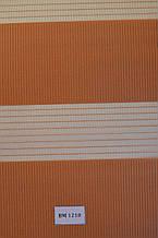 Рулонные шторы день-ночь оранж  ВМ-1210