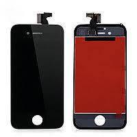 Дисплей iPhone 4 черный (LCD экран, тачскрин, стекло в сборе)