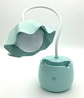 Светодиодная лампа на рабочий стол \ Led Lamp гибкая LD1017 Blue