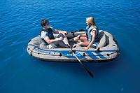Гребная лодка INTEX 68319 NP (для отдыха на больших открытых водоёмах)
