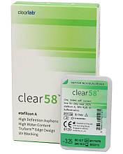 Контактная линза CLEAR 58