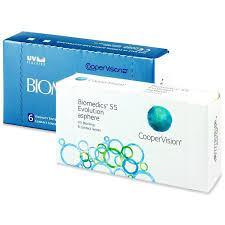 Контактна лінза Biomedics 55