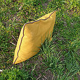 Декоративная прямоугольная подушка с кантом по периметру, фото 2
