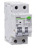 NOARK Диференційний автоматичний  вимикач Еx9BL-N, 30mA, 1P+N C16A