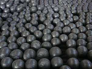Шары стальные мелющие для шаровых мельниц  ф40мм ДСТУ 3499-97 и ГОСТ 7524-89