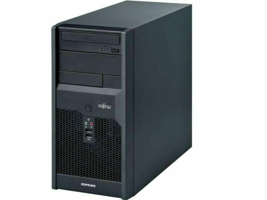 Системный блок, компьютер, Intel Core 2 Duo, 2 ядра по 2,4 Ггц, 8 Гб ОЗУ, HDD 0 Гб