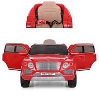 Детский электромобиль джип Bentley JJ 2158 Красный