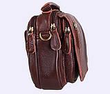 Мужская кожаная сумка Dovhani Dov-673-11 Коричневая, фото 3