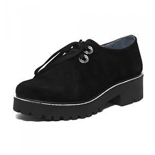 Туфли женские замшевые 7123sr АКЦИЯ !!! один размер 41 длина стельки 27,5 см, фото 2