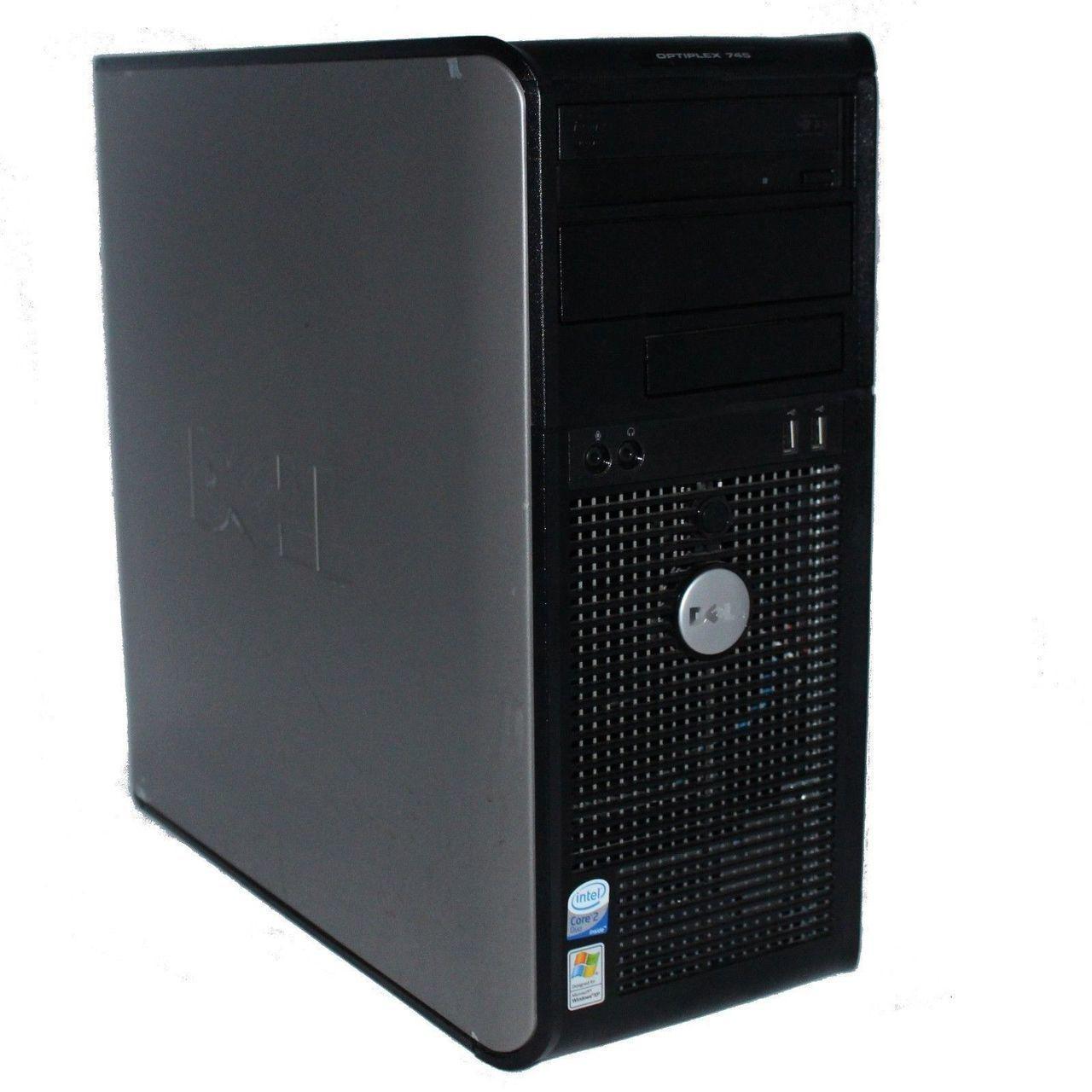 Системный блок, компьютер, Intel Core 2 Duo, 2 ядра по 2,4 Ггц, 4 Гб ОЗУ, HDD 500 Гб, видео 1 Гб