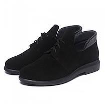 Туфли черные замшевые 833-13, фото 3
