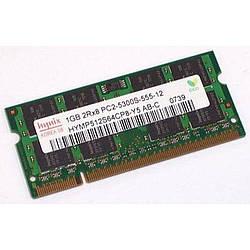 Б.У оперативная память для ноутбука Hynix 1Gb DDR2 PC2-5300S SODIMM 667Mhz