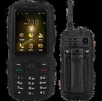 Кнопочный телефон Android Discovery А17 (Land Rover)  2 сим,2,4 дюйма,2 ядра,4 Гб,2 Мп,2800 мА\ч.  РАЦИЯ\IP67.