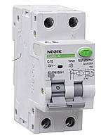 NOARK Диференційний автоматичний  вимикач Еx9BL-N, 30mA, 1P+N C32A