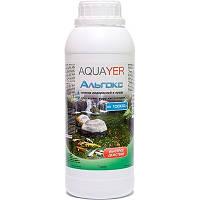 AQUAYER Альгокс средство против зеленых водорослей в прудах, 1л