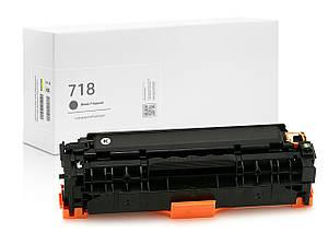 Картридж совместимый Canon 718 Black (чёрный), стандартный ресурс (3.500 копий) аналог от Gravitone