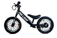 Велобег Logat LDM Black (Дисковый тормоз) Гарантия качества Быстрая доставка, фото 2