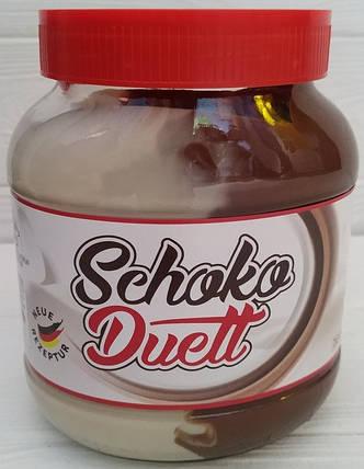 Шоколадная паста Schoko Duett 750г , фото 2