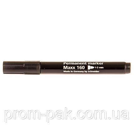 Черный маркер перманентный Schneider MAXX 160 E , фото 2