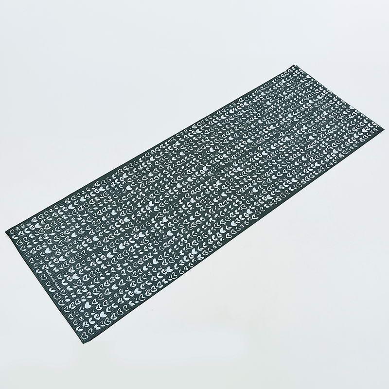 Коврик для йоги и фитнеса PVC двухслойный 4мм SP-Planeta CLOTH FI-0183