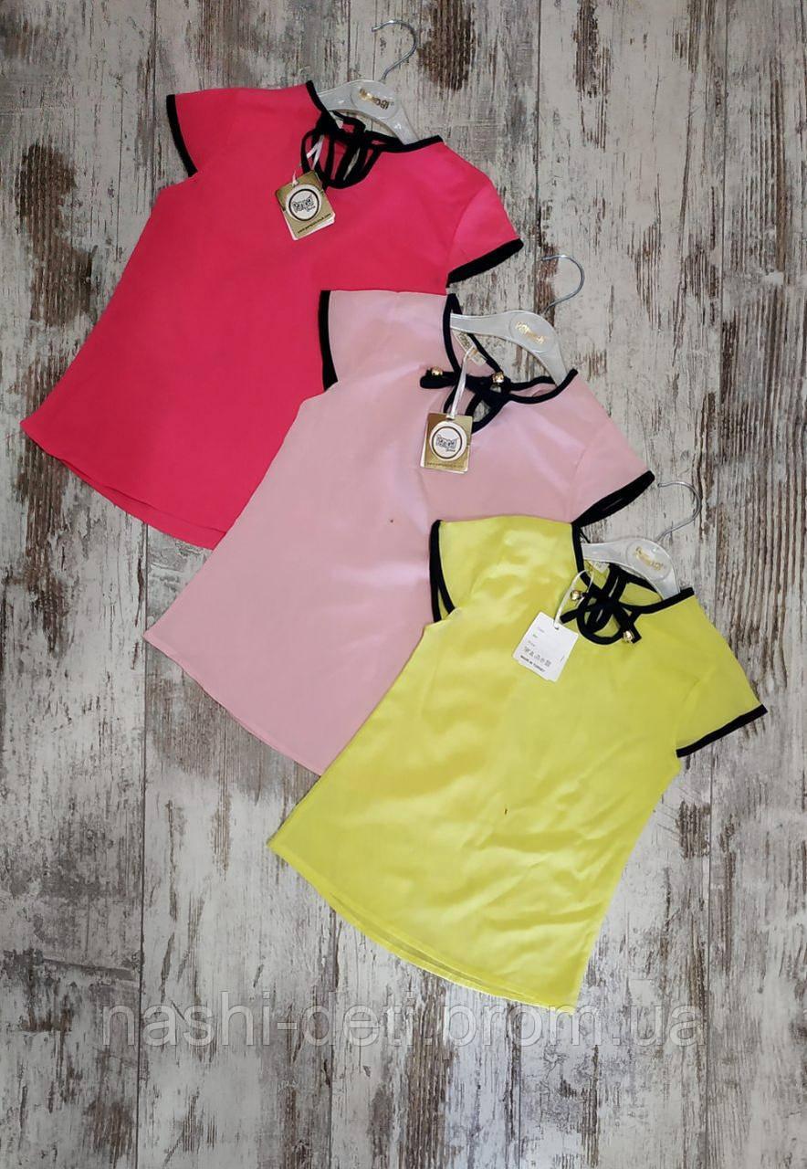 Блузка для девочек.  размер 5.6.7.8лет.  оптом.