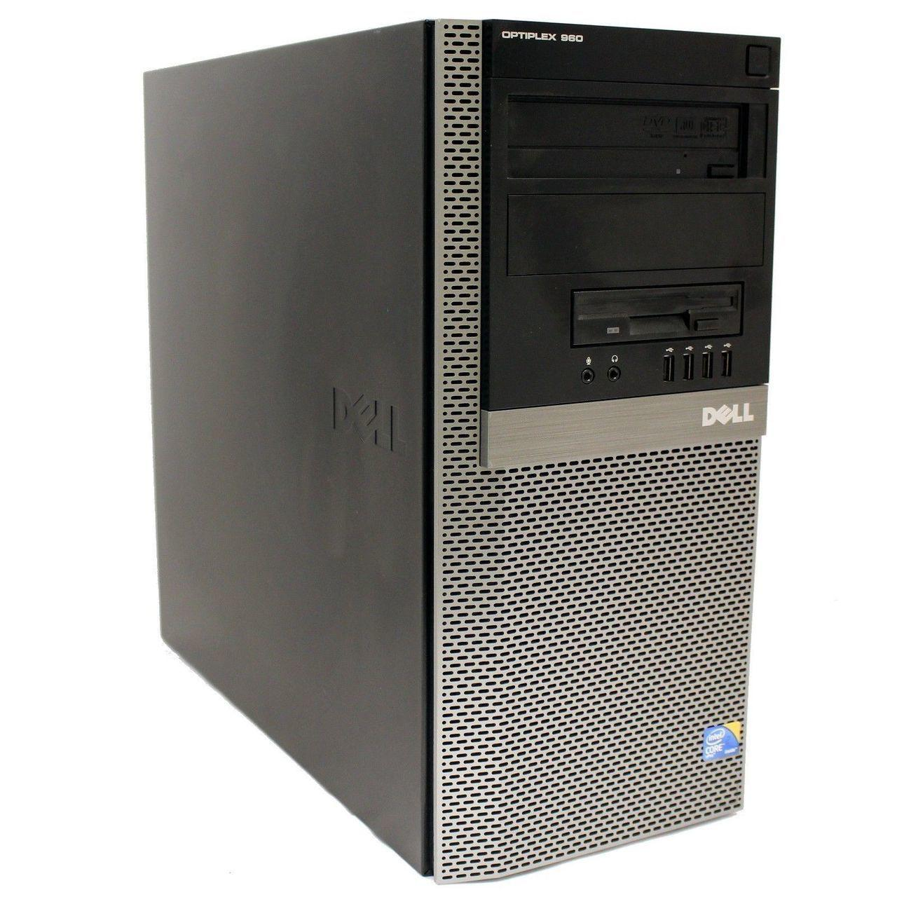 Системный блок, компьютер, Intel Core 2 Duo, 2 ядра по 2,4 Ггц, 8 Гб ОЗУ, HDD 1000 Гб