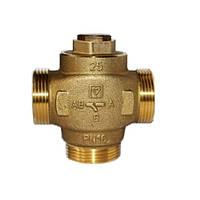 """Трехходовой термосмесительный клапан HERZ Teplomix DN25 1 1\4"""" 60C  1776603"""