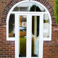 Входные пластиковые двери, фото 2