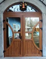 Входные пластиковые двери, фото 3