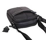 Мужская кожаная сумка Dovhani Dov-1025BL1 Черная, фото 4