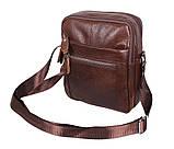 Мужская кожаная сумка Dovhani Dov-3922-36 Коричневая, фото 2