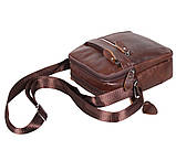 Мужская кожаная сумка Dovhani Dov-3922-36 Коричневая, фото 4