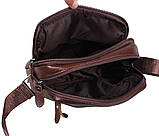 Мужская кожаная сумка Dovhani Dov-3922-36 Коричневая, фото 7