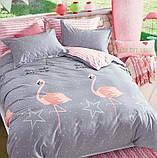 Полуторный комплект постельного белья с компаньоном R7452, фото 3