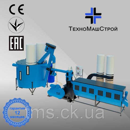 Оборудование для производства пеллет и комбикорма МЛГ-1500 МАХ+ (производительность до 700 кг/час)