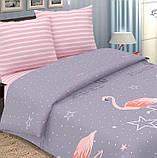 Полуторный комплект постельного белья с компаньоном R7452, фото 4