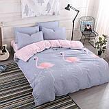 Полуторный комплект постельного белья с компаньоном R7452, фото 2
