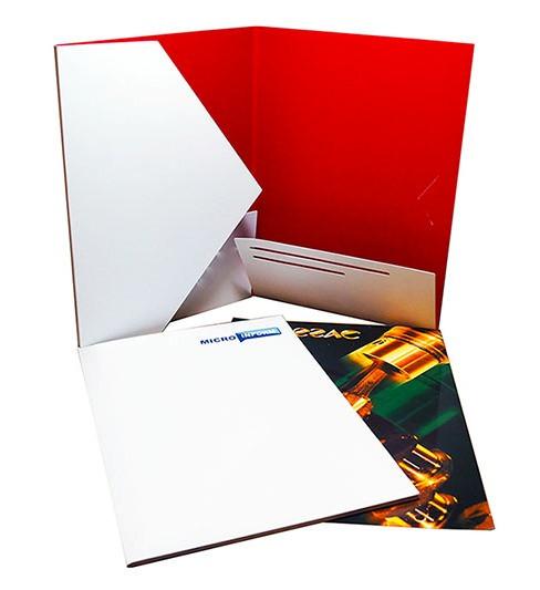 Заказать папки с логотипом в Днепре