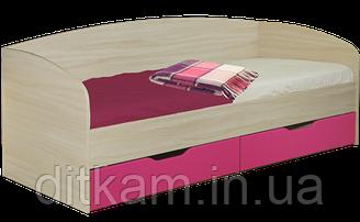 Кровать односпальная с ящиками Винни 1600х800