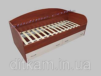 Кровать детская с ящиками Винни 1700х800