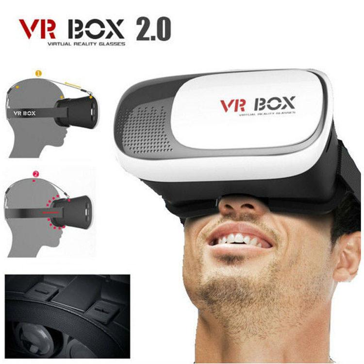 3D окуляри віртуальної реальності VR BOX 2.0 c пультом 3Д окуляри для смартфонів Віртуальна реальність