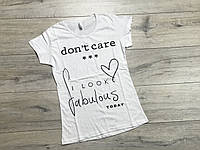 Женская футболка. S- XL размеры.