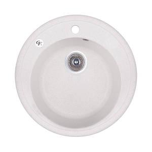 Кухонная мойка GF Italy (WHI-01) D510/200 гранитная