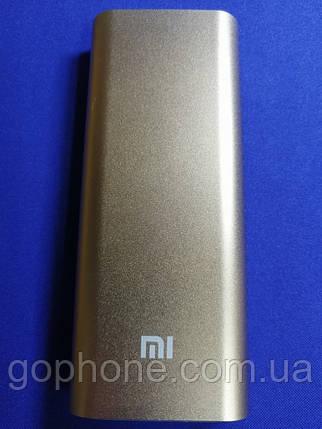 Power Bank Xiaomi (ЗОЛОТО) 16000 мАч, фото 2