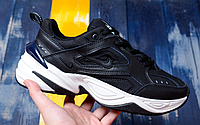 "Кроссовки Nike M2K Tekno ""Black/Blue"" Арт. 3887"