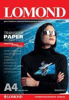 Термотрансфер lomond для темных тканей 140 гр/м a4*10 листов (0808421)