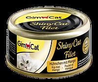 Gimpet Shiny Cat Filet 70г*6шт - консервы для кошек