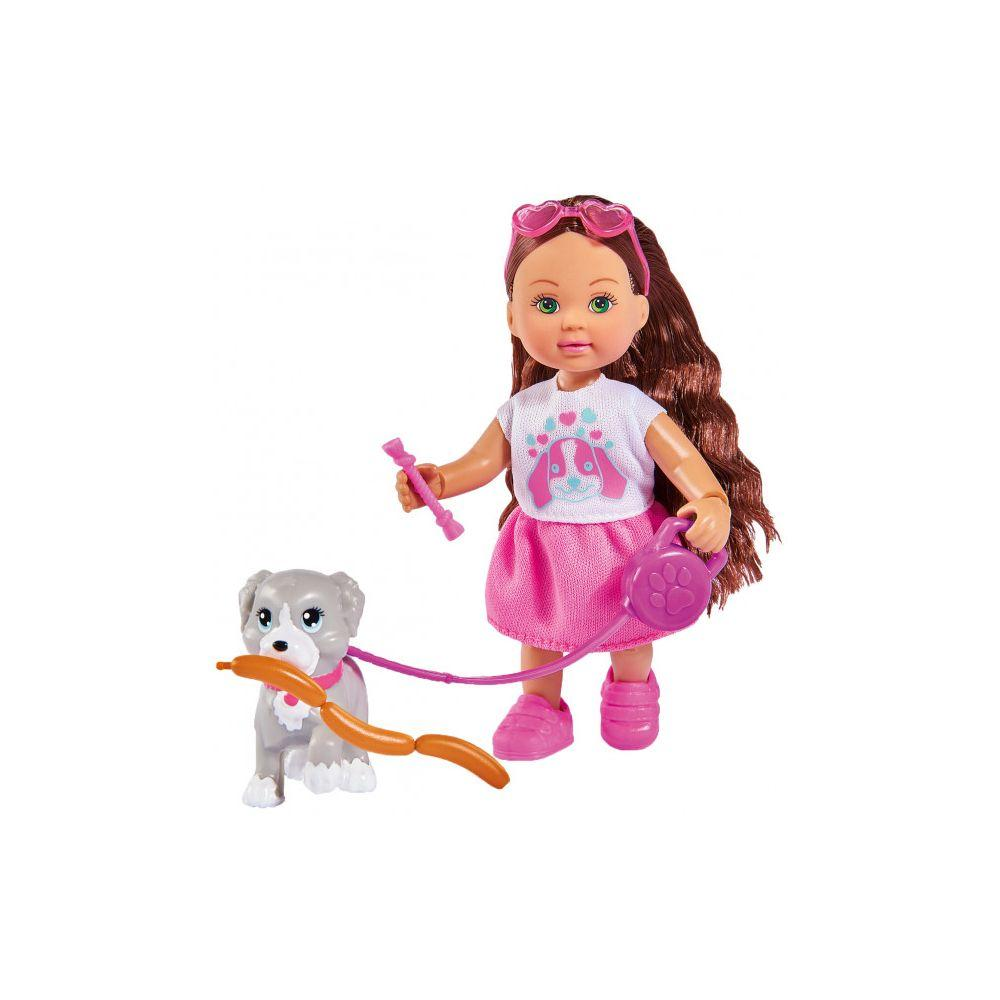 Кукла Еви Холидей друг с собачкой Evi Simba