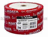 Диск ridata dvd-r 4,7gb 16x bulk 50 шт. printable fullface